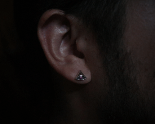 Eye of Providence pierce -BCZ