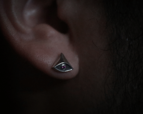 Eye of Providence pierce -IBS