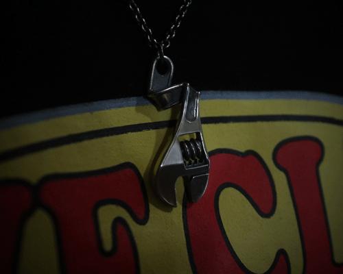 Thunder Bolt Necklace -SILVER