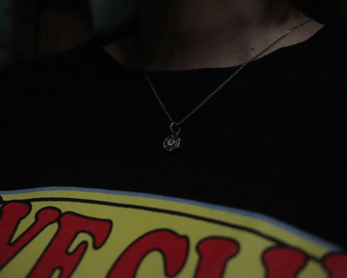 Lock Nut Necklace -BRASS base