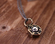 Lock Nut Necklace -BRASS base