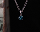 Swallow Candy Necklace -BLUE