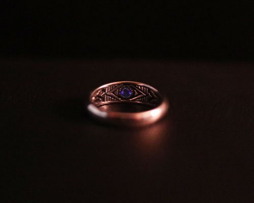Two Face Ring- wide