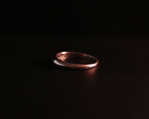 Two Face Ring- narrow