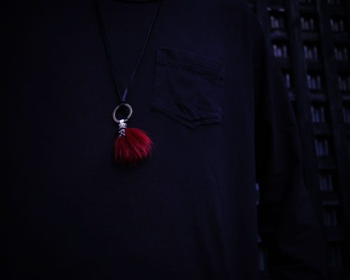Beardman Keyholder -RED