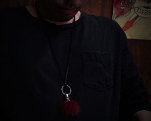 Beardman Keyholder -BLACK