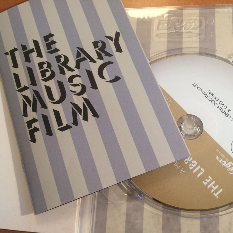 Library Music Film, The - The Library Music Film [Music From And Inspired By The Film] (New DVD)