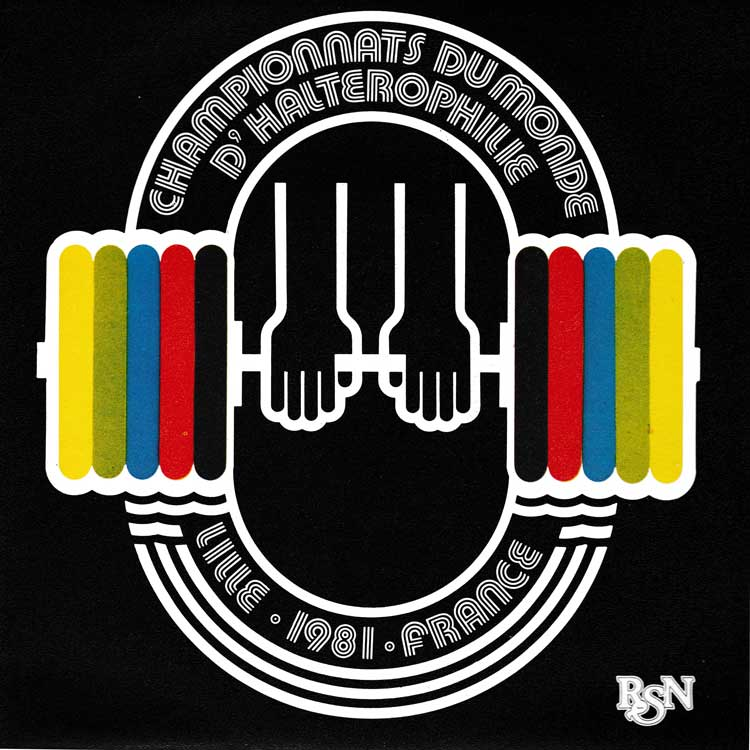 "Jean Buisine - Championnats Du Monde D'Halterophilie [Lille. 1981. France] (World Weightlifting Championship Lille) (Used 7"")"