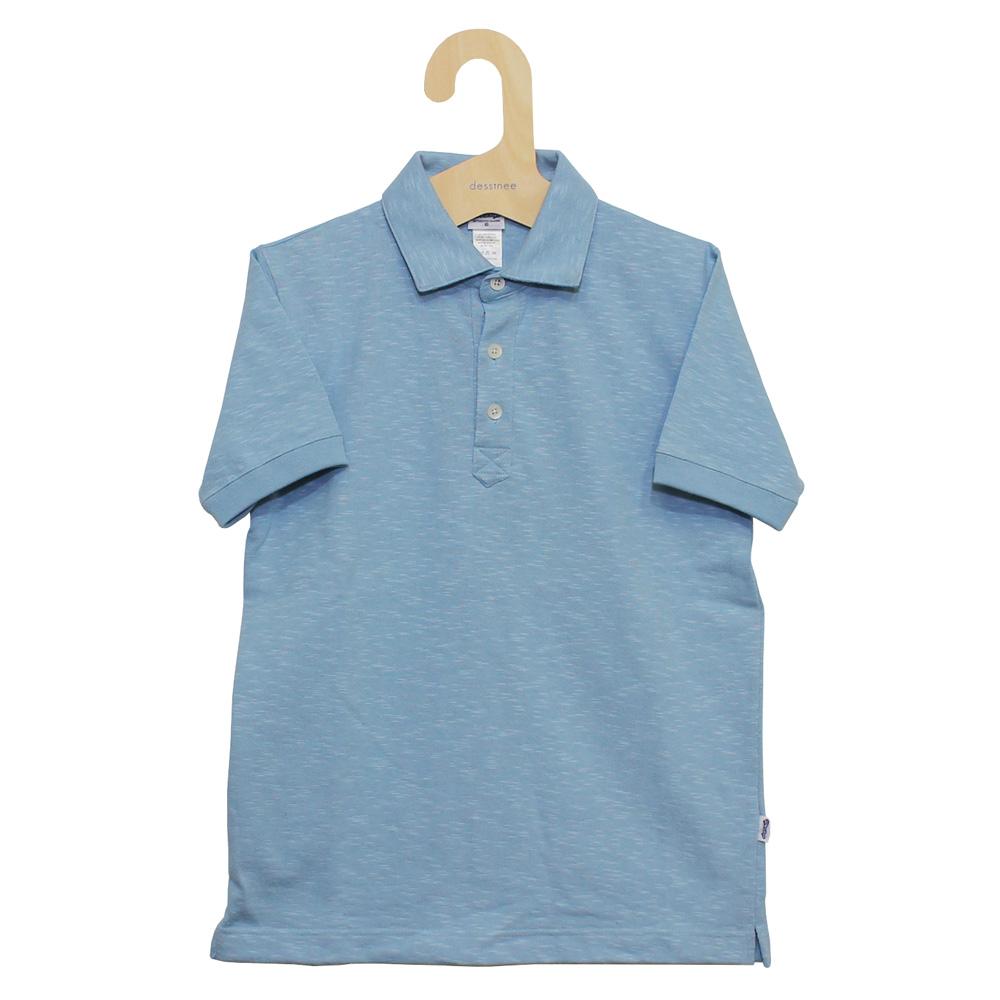 Tieasy AUTHENTIC CLASSIC (ティージー) - Tieasy HDCS Polo (ポロシャツ) (Powder Blue)