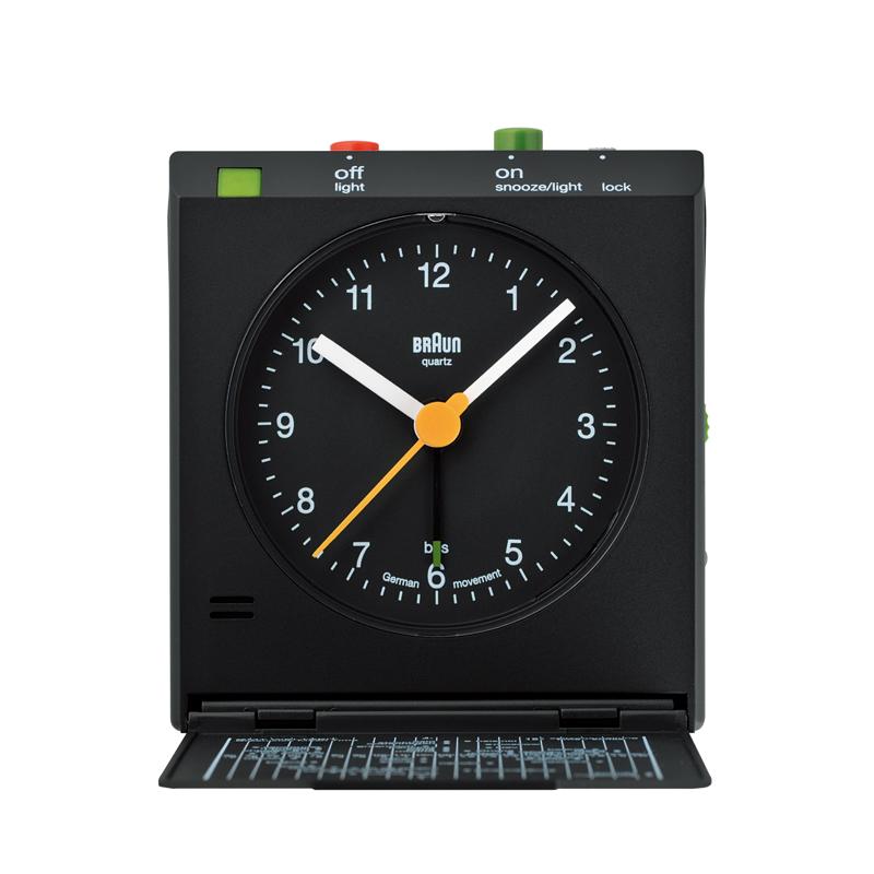 Braun (ブラウン) - Alarm Clock [BNC005] (アラーム・クロック) (BKBK)