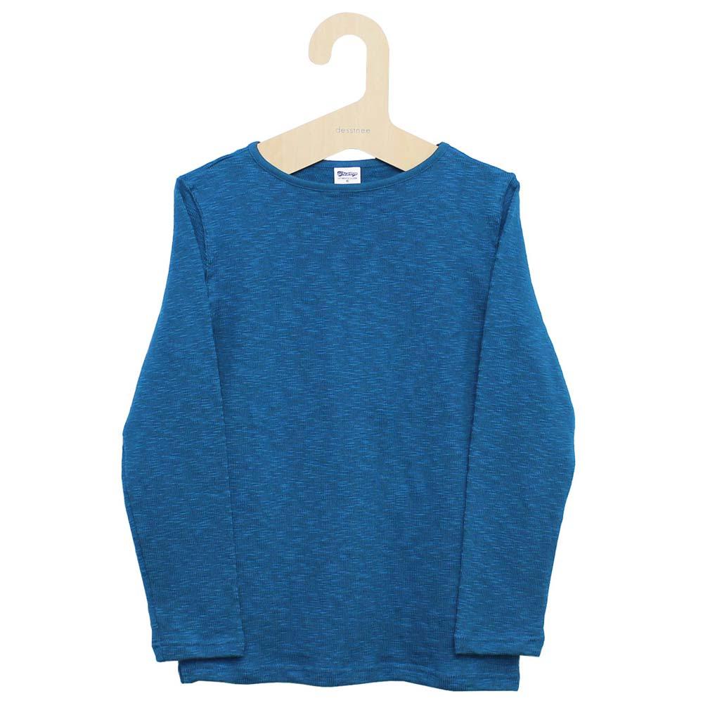 Tieasy AUTHENTIC CLASSIC (ティージー) - Tieasy Original Boatneck Shirt (ボートネック・バスクシャツ) (Denim Blue )