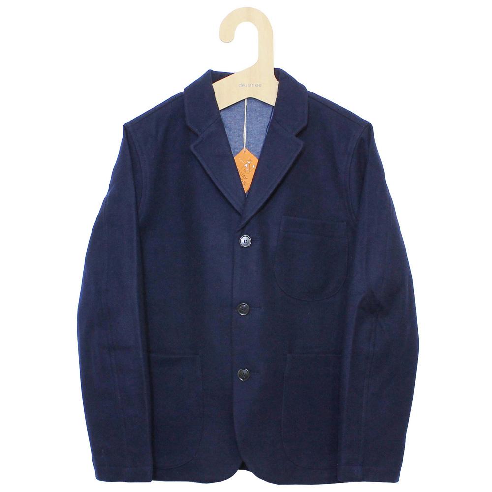 William Fox & Sons (ウィリアム・フォックス・アンド・サンズ) - Classic Blazer (ジャケット) (Navy)