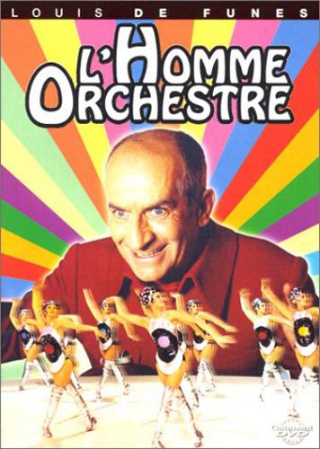Serge Korber / Louis de Funes / Francois de Roubaix - L'Homme Orchestre (1970) (オーケストラの男) (New DVD)