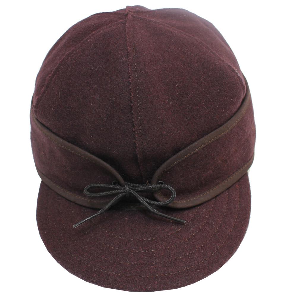 Stormy Kromer (ストーミー・クローマー) - Original Wool Stormy Kromer Cap (キャップ) (Dark Brown )