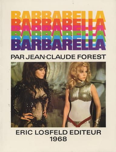 Jean-Claude Forest (ジャン=クロード・フォレ) - Barbarella (バーバレラ) (Used Book)