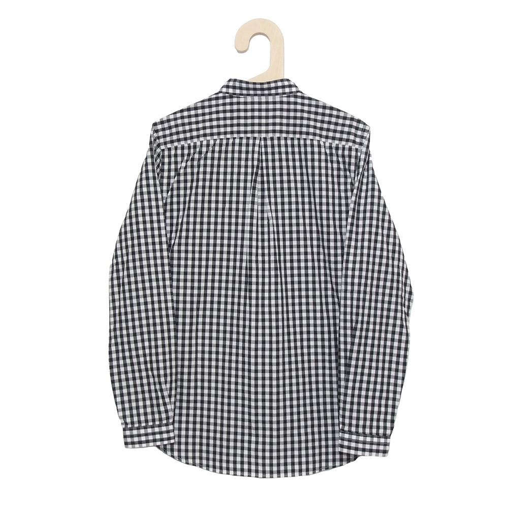 Gingamp (ギンガム) - Ordinary Shirts Gingamp (長袖BDシャツ) (Black)