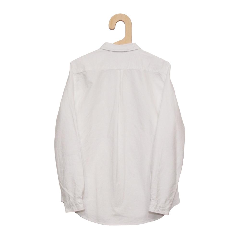 Gingamp (ギンガム) - Ordinary Shirts Oxford (長袖BDシャツ) (White)