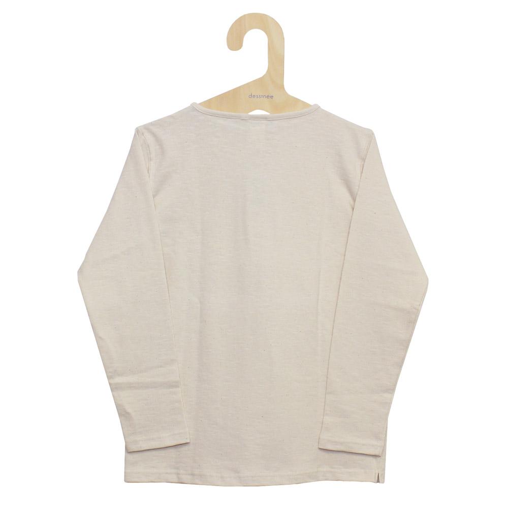 Tieasy AUTHENTIC CLASSIC (ティージー) - HDCS Boatneck Basque Shirt (バスクシャツ) (Natural)