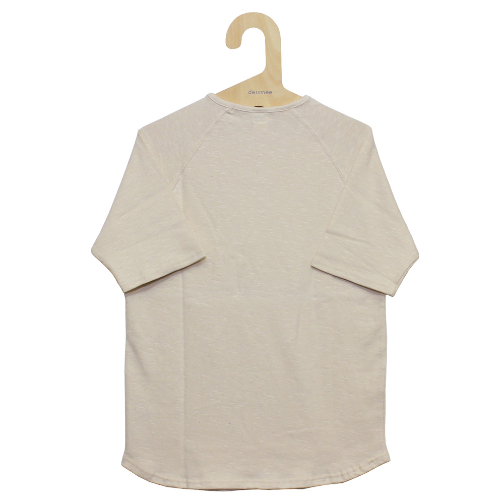 Tieasy AUTHENTIC CLASSIC (ティージー) - HDCS Dropneck 1/2 Sleeve Shirt (半袖カットソー) (natural)