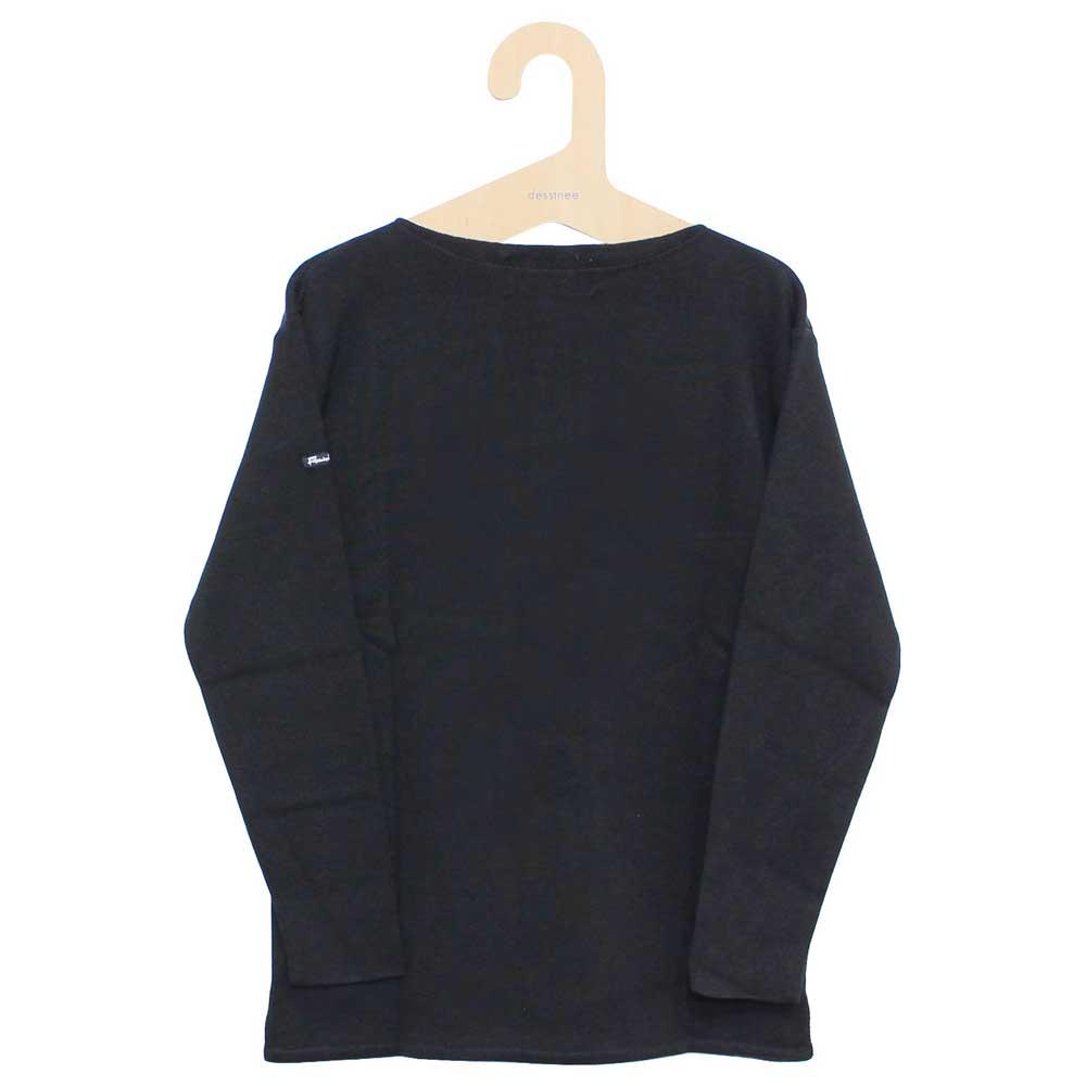 FILEUSE D'ARVOR (フィルーズ・ダルボー) - Brest (ボートネック・バスクシャツ) (Black)