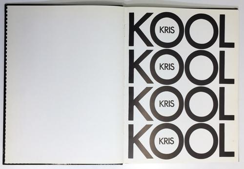 Philip Caza [Philippe Caza] - Kris Kool (Used Book)