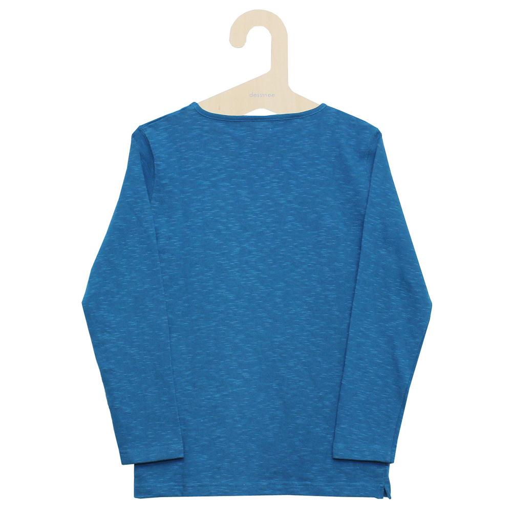 Tieasy AUTHENTIC CLASSIC (ティージー) - HDCS Boatneck Basque Shirt (バスクシャツ) (Denim)