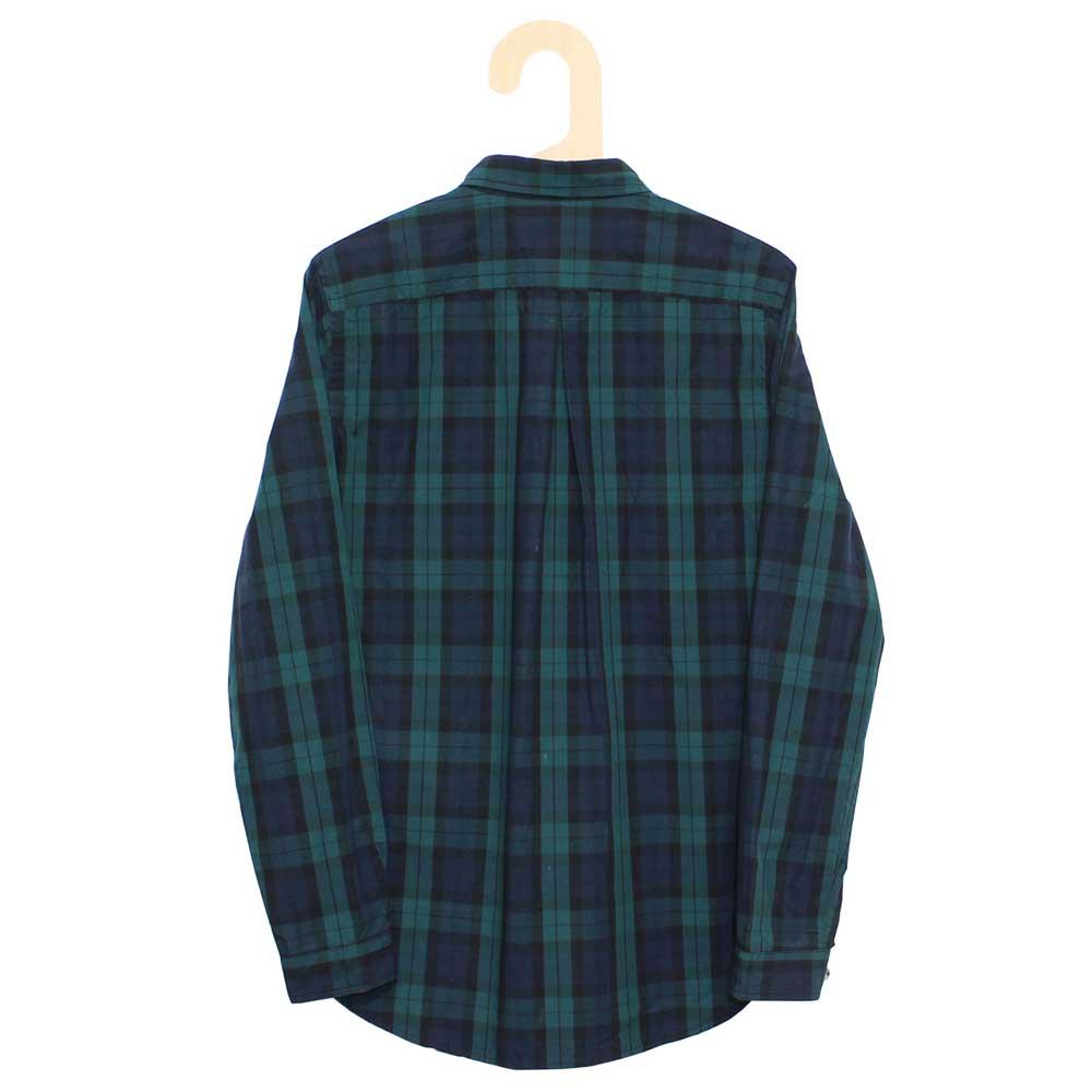 Gingamp (ギンガム) - Ordinary Shirts Typewriter Cloth (長袖BDシャツ) (Black Watch)