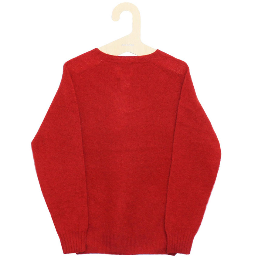 William Fox & Sons (ウィリアム・フォックス・アンド・サンズ) - Brushed Wool Pullover (ニット) (Tudor)