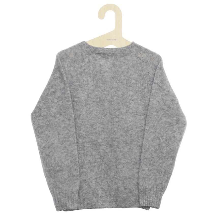 William Fox & Sons (ウィリアム・フォックス・アンド・サンズ) - Brushed Wool Pullover (ニット) (Silver)