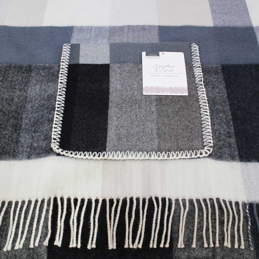 Lapuan Kankurit (ラプアン・カンクリ) - PALAPELI / Pocket Shawl (ショール) (Black)