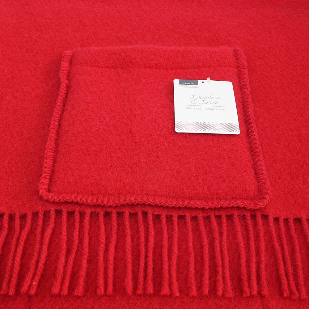 Lapuan Kankurit (ラプアン・カンクリ) - UNI / Pocket Shawl (ショール) (Red)