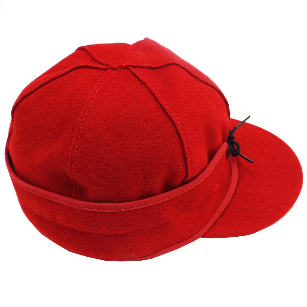 Stormy Kromer (ストーミー・クローマー) - Original Wool Stormy Kromer Cap (キャップ) (Red)