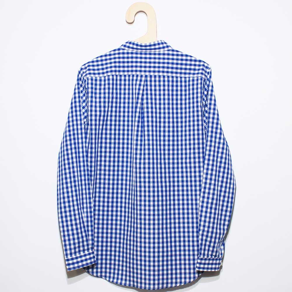 Gingamp (ギンガム) - Ordinary Shirts Gingamp (長袖BDシャツ) (Blue)