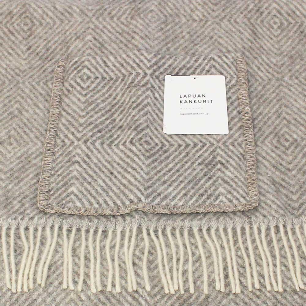 Lapuan Kankurit (ラプアン・カンクリ) - MARIA / Pocket Shawl (ショール) (Grey/White)