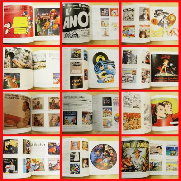 Christian Marmonnier - Comics Vinyls [50 ans de complicite entre la Bande Dessinee et la Musique] (Used Book)