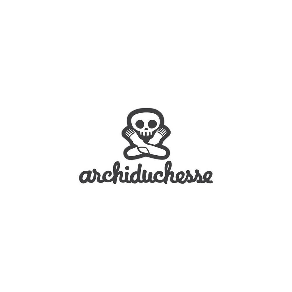 Archiduchesse (アシッドゥシャス) - De Ville (ソックス) (Beige Cafe Au Lait)