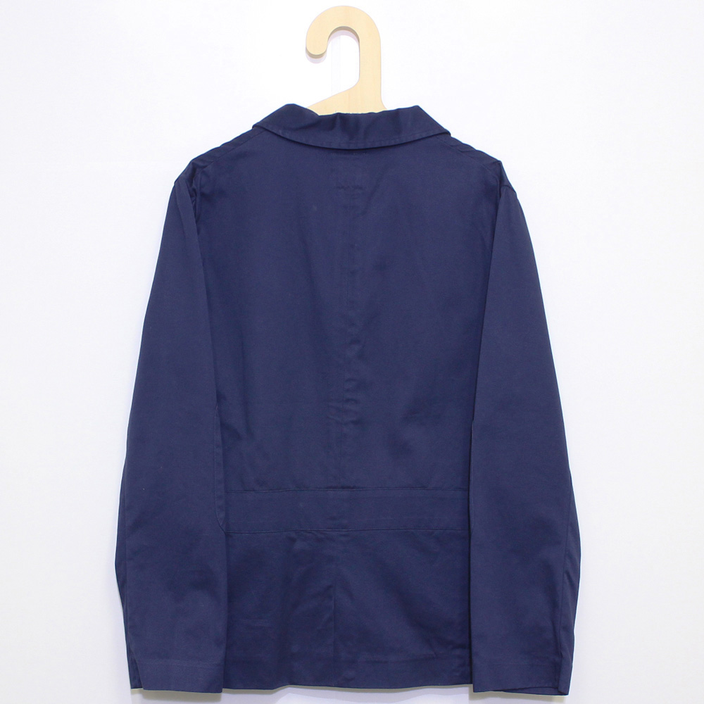 William Fox & Sons (ウィリアム・フォックス・アンド・サンズ) - Bellows Pocket Jacket (ジャケット) (Navy)