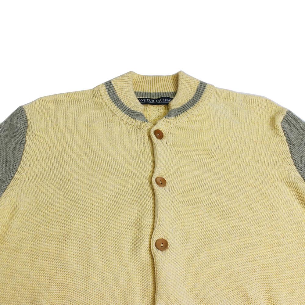 Monsieur Lacenaire (ムッシュー・ラスネール) - Teddy (ニットカーディガン) (Yellow/Green)