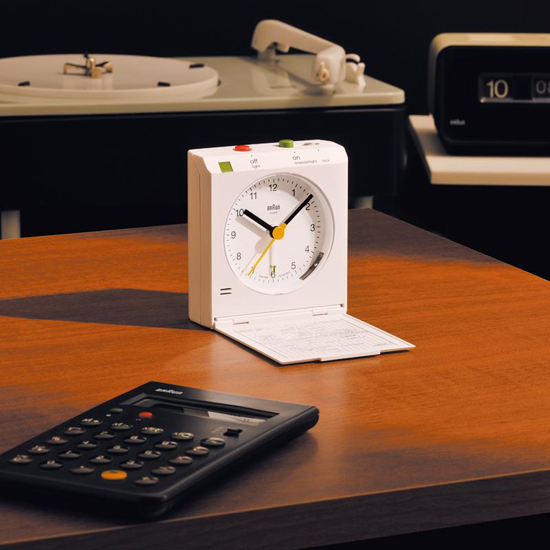 Braun (ブラウン) - Alarm Clock [BNC005] (アラーム・クロック) (WHWH)