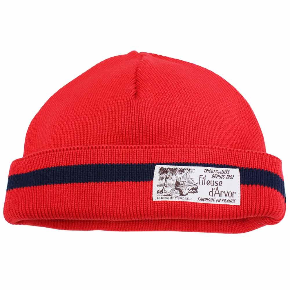 FILEUSE D'ARVOR (フィルーズ・ダルボー) - Garde (ニット帽) (Rouge)