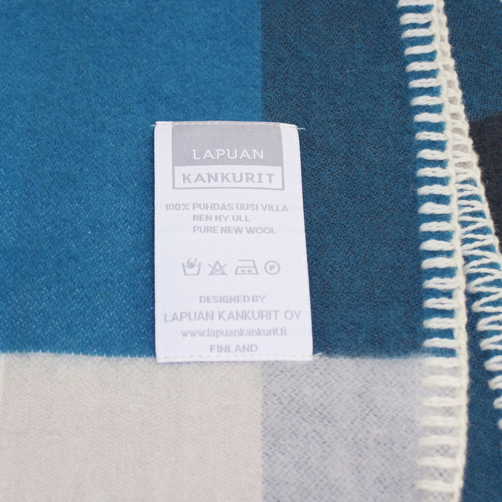 Lapuan Kankurit (ラプアン・カンクリ) - PALAPELI / Pocket Shawl (ショール) (Turquoise)