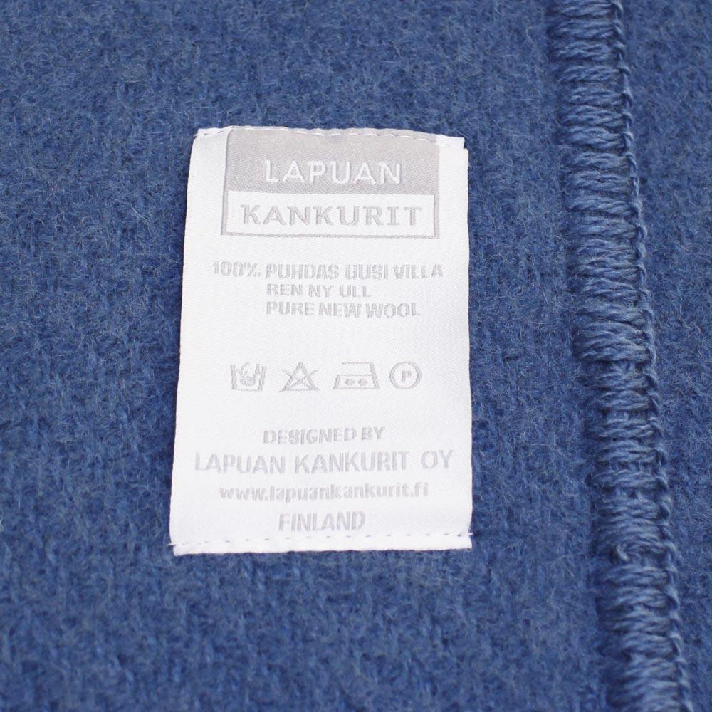 Lapuan Kankurit (ラプアン・カンクリ) - UNI / Pocket Shawl (ショール) (Blue)