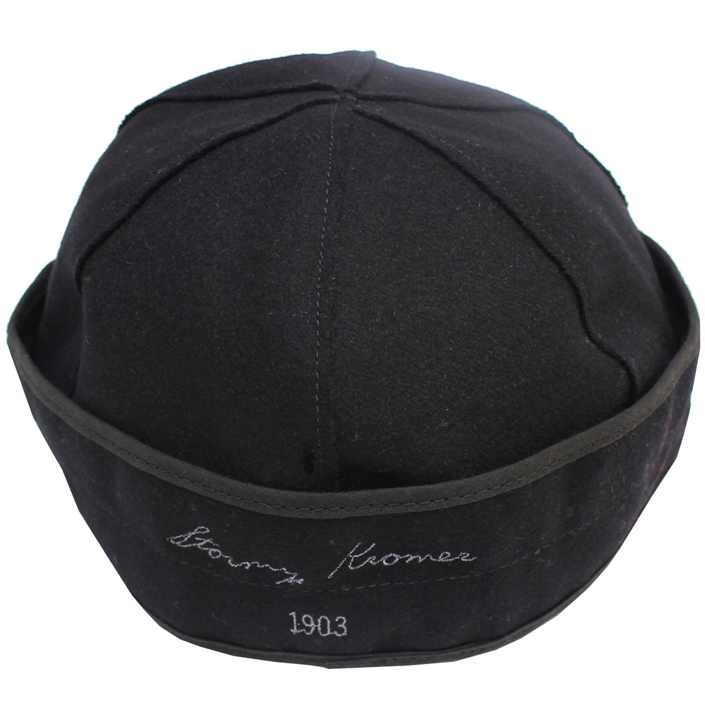 Stormy Kromer (ストーミー・クローマー) - Original Wool Stormy Kromer Cap (キャップ) (Black)