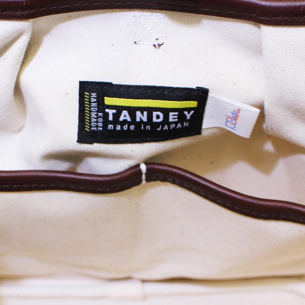 "TANDEY (タンデイ) - ""TANDEY""דデシネ""丸型トート (S) (トートバッグ) (Navy)"
