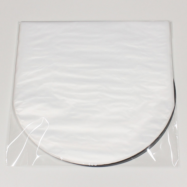 PP Round Inner Sleeves for LP (100pcs) - LP用半透明内袋/丸底 (100枚セット) (Accesary)