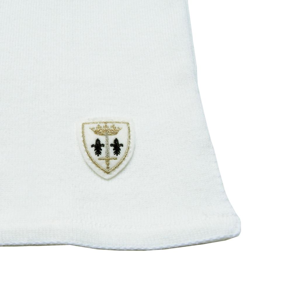FILEUSE D'ARVOR (フィルーズ・ダルボー) - Brest (ボートネック・バスクシャツ) (Pure White)