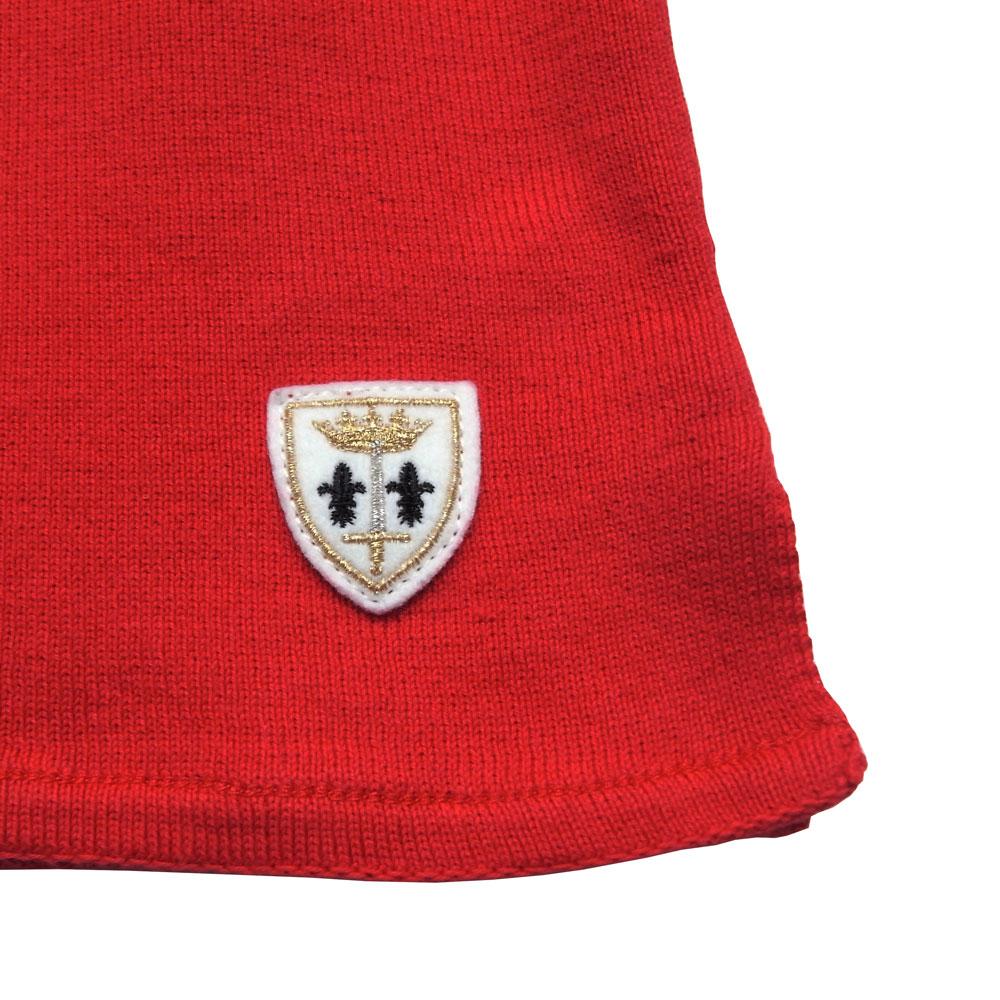 FILEUSE D'ARVOR (フィルーズ・ダルボー) - Brest (ボートネック・バスクシャツ) (Rouge)