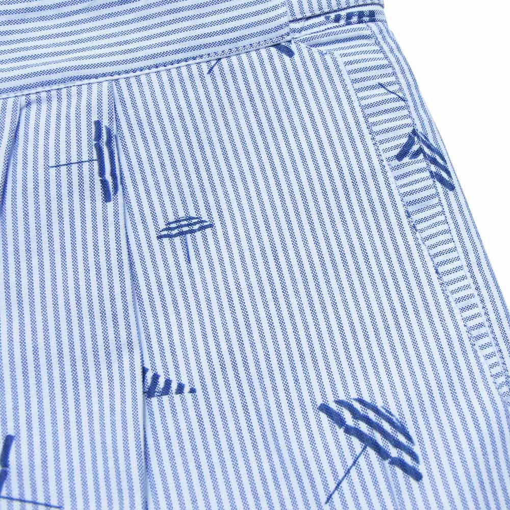 Monsieur Lacenaire (ムッシュー・ラスネール) - Jodhpurs Shorts (ショーツ) (Blue Umbrella)