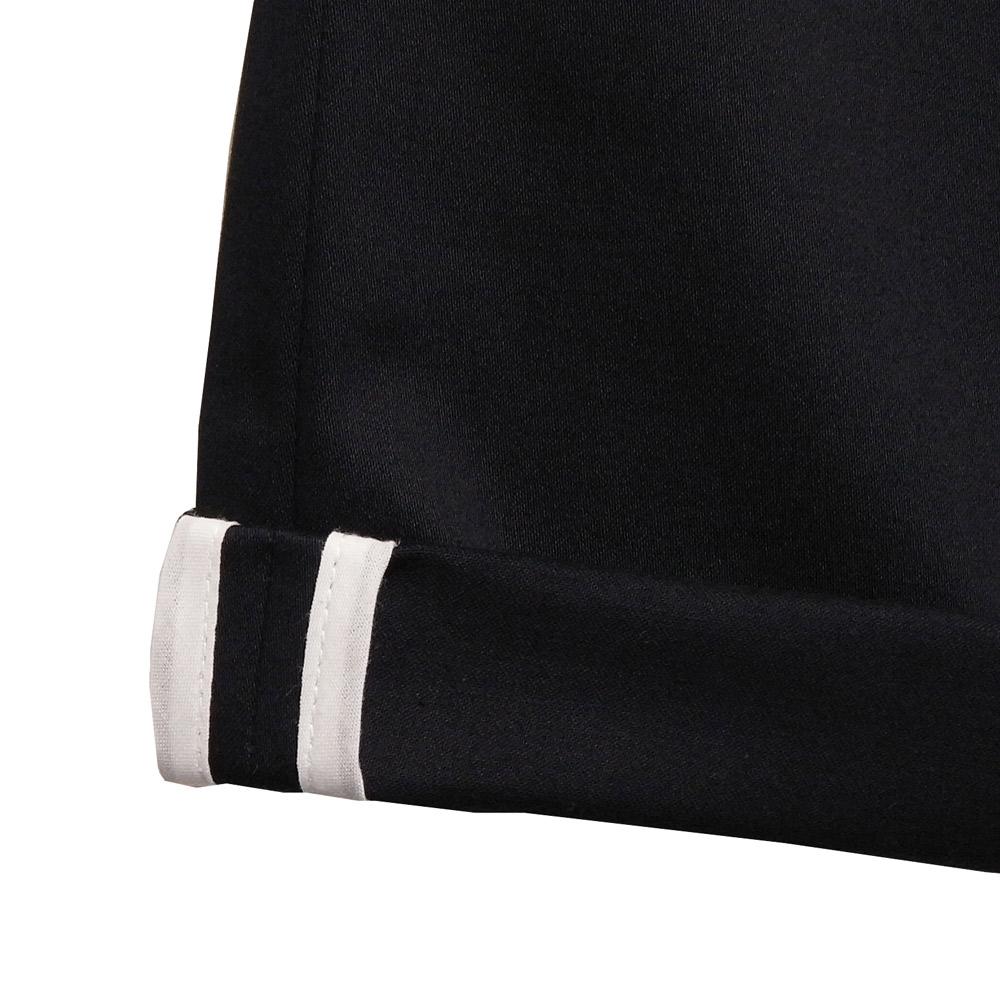 ensemble dessinee (アンサンブル・デシネ) - Cotton Strecth Pants  (5ポケットパンツ) (Navy)