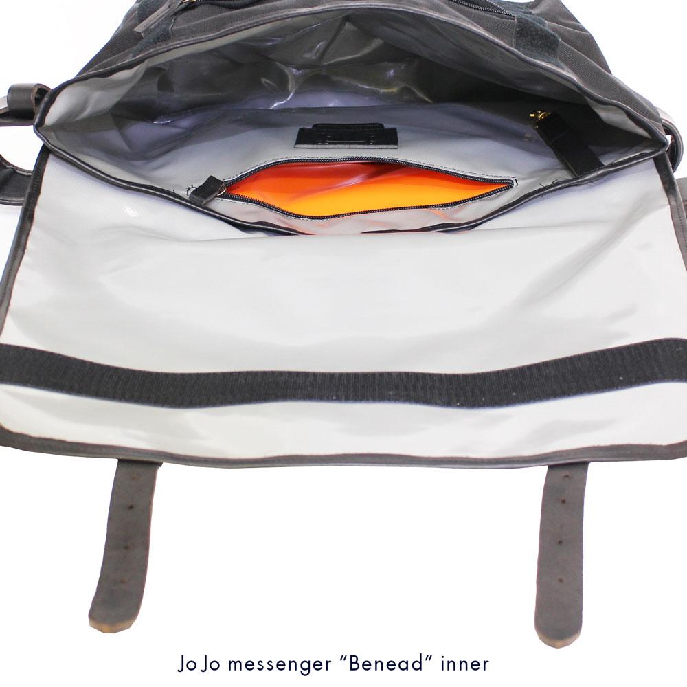 JOJO messenger (ジョジョ・メッセンジャー) - Benead (メッセンジャー・バッグ) (Brown/Tauny)